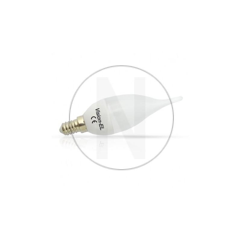 Ampoule LED E14 Coup de vent 6W 3000°K
