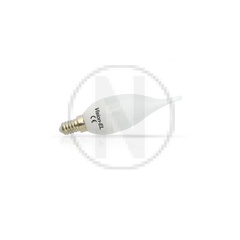 Ampoule LED E14 Coup de vent 6W 4000°K