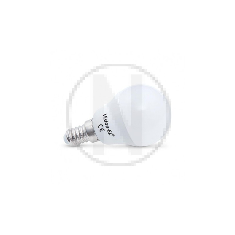 Ampoule LED E14 Bulb P45 6W Dimmable 3000°K