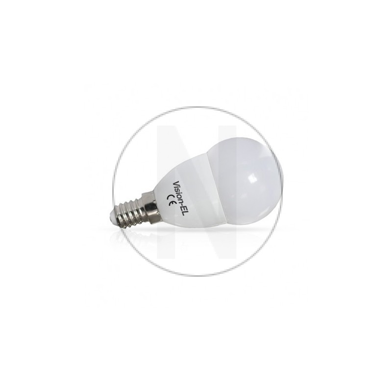 Ampoule LED E14 Bulb P45 6W Dimmable 4000°K