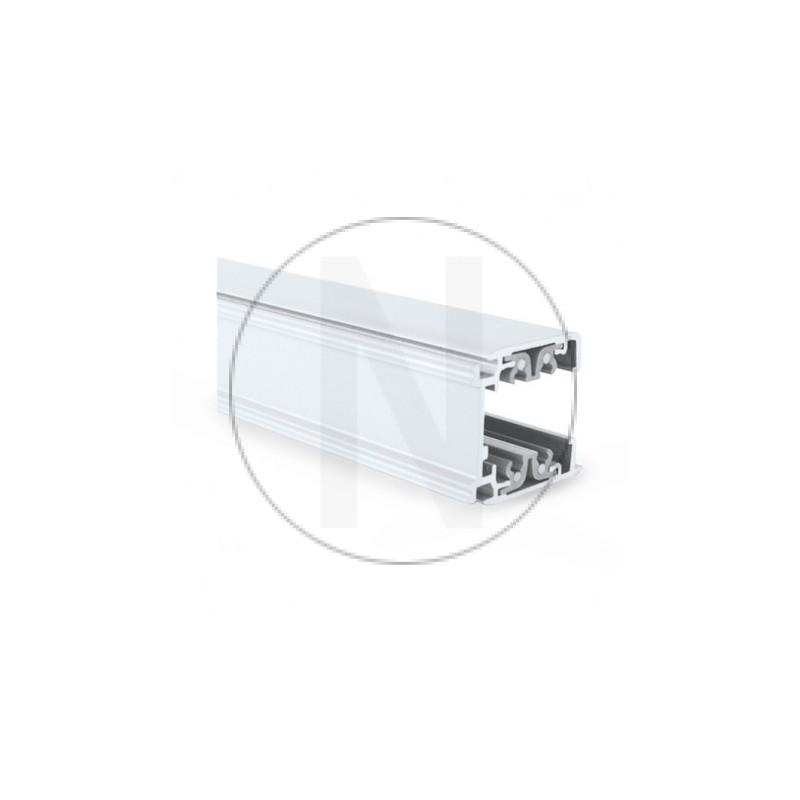 Rail Triphase pour Spots LED Blanc 1 m