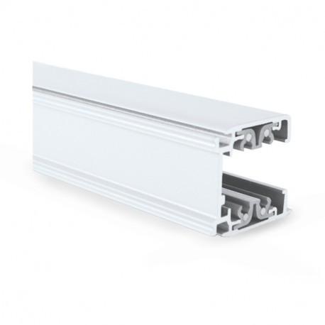 Rail Triphase pour Spots LED Blanc 2 m