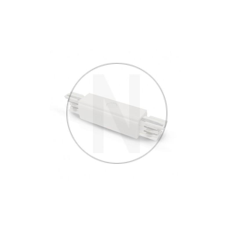 Connecteur Triphase Central Blanc