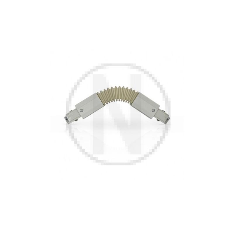 Connecteur Triphase Flexible Blanc