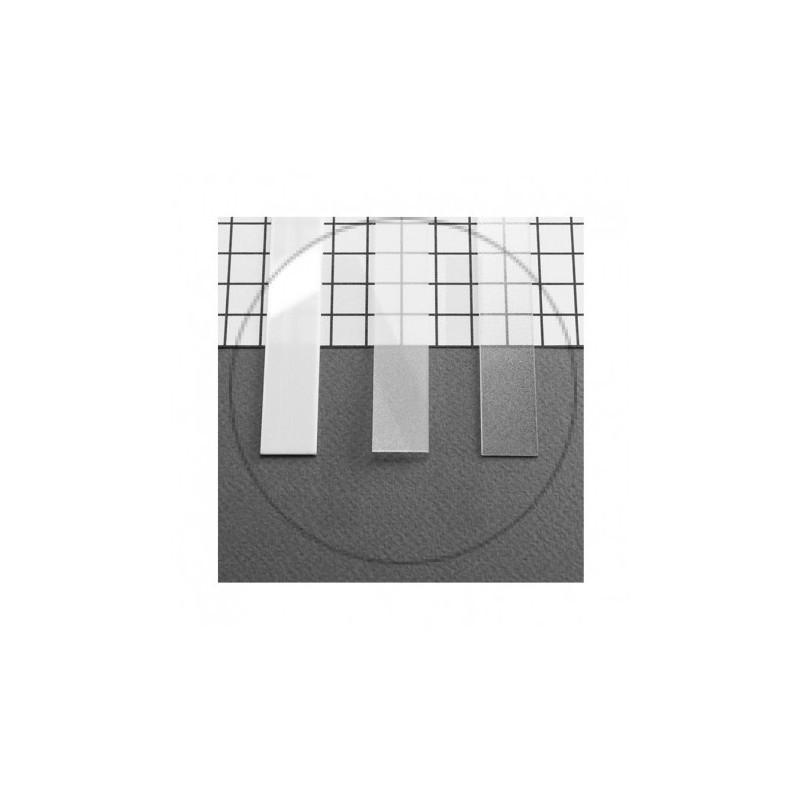 Diffuseur Profile 15.4mm Blanc 1m pour bandeaux LED