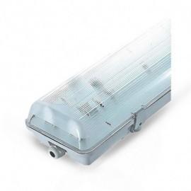 NDRD Boitier Etanche LED sans ballast pour 2 Tube T8 de 1200 mm