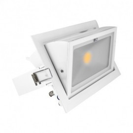 Spot LED Rectangulaire Orientable 30W 3000°K