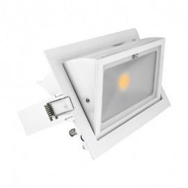Spot LED Rectangulaire Orientable 30W 3000°K