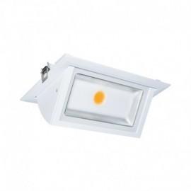 Spot LED Rectangulaire Inclinable avec Alimentation Electronique 40W 4000°K