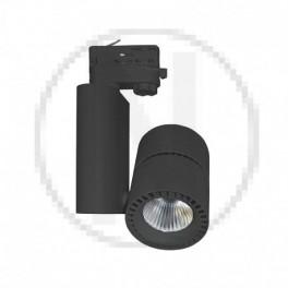 Spot LED sur Rail Noir 40W...
