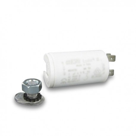 Condensateur icar wb40 cosses pour pompes partir de for Condensateur moteur piscine