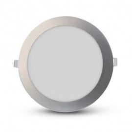 Plafonnier LED Aluminium Ø170 12W 3000°K