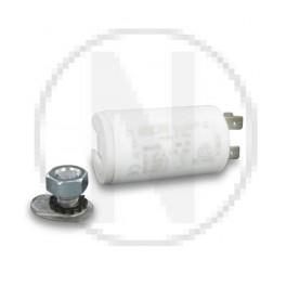 Condensateur permanent moteur à cosse 20 µF - 450 VAC - Icar ecofil WB4020