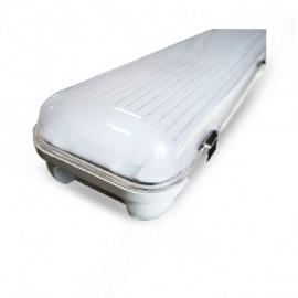 Boitier Etanche LED Intégrées 4000°K 48W 1270 x 140 x 92 mm