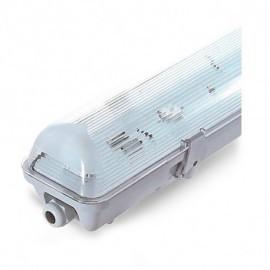 NDRD Boitier Etanche LED sans ballast pour 1 Tube T8 de 1500 mm