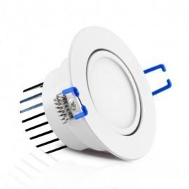 Spot LED Orientable  7W 3000°K + Alimentation Electronique