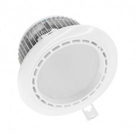 Spot LED Fixe 4 Zones avec Alimentation Electronique 13W RGB + 4000°K