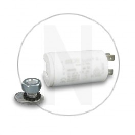 Condensateur permanent moteur à cosse 100 µF