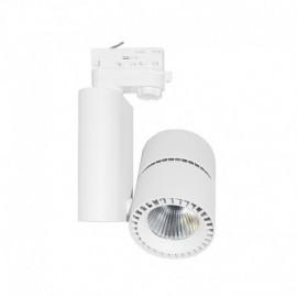 Spot LED sur Rail Blanc 40W 3000°K