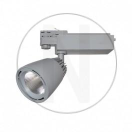 Spot LED sur Rail Gris 40W...