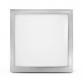 Plafonnier LED Aluminium 295 x 295 18W 3000°K