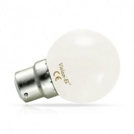 Ampoule LED B22 Bulb 1W 6000°K