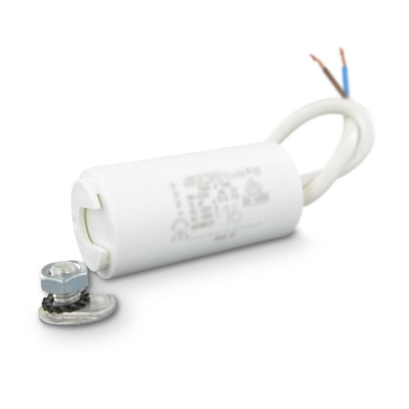 Condensateur permanent moteur a cable 450vac 4 f icar icar wb4 - Condensateur volet roulant ...