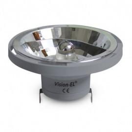 Ampoule LED QR G53 AR111 Gris 15W 3000°K