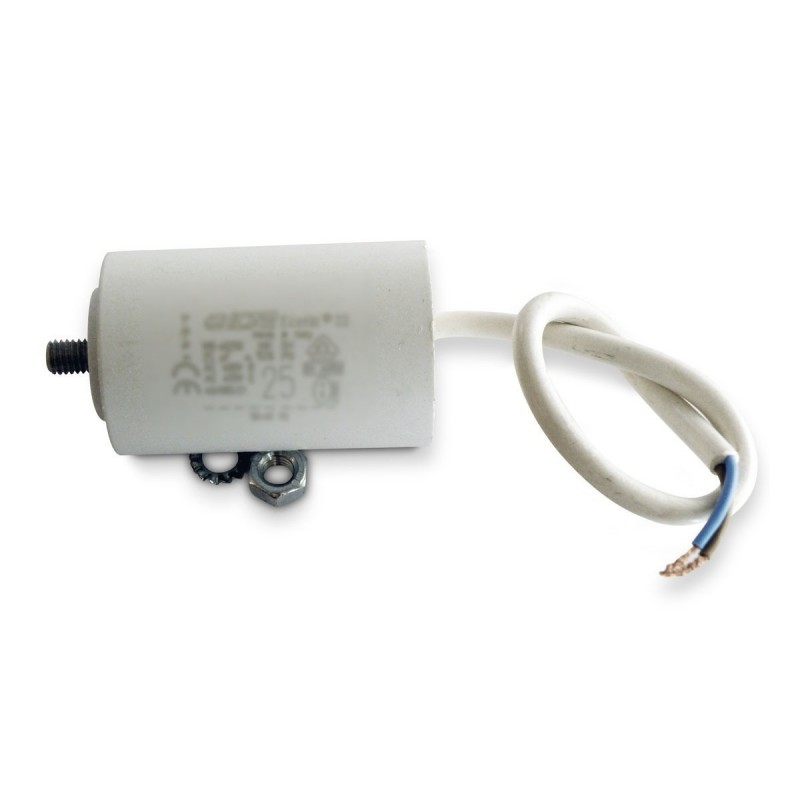 condensateur permanent moteur a cable 450va 20 f icar. Black Bedroom Furniture Sets. Home Design Ideas