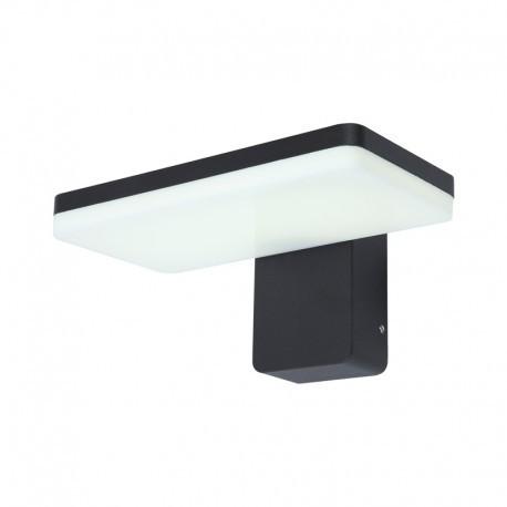 Applique Murale LED 12 Watt 230V 3000°K Anthracite IP65