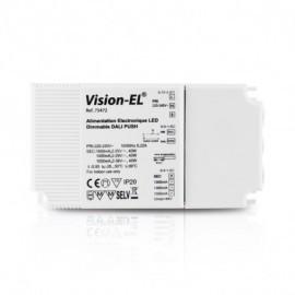 Alimentation pour LED AC 220-240V DALI PUSH 40W 1050-1600mA
