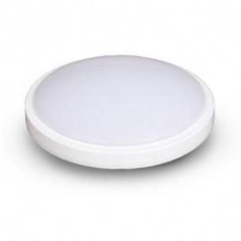 Plafonnier LED Blanc Ø280 18W 4000°K avec détecteur