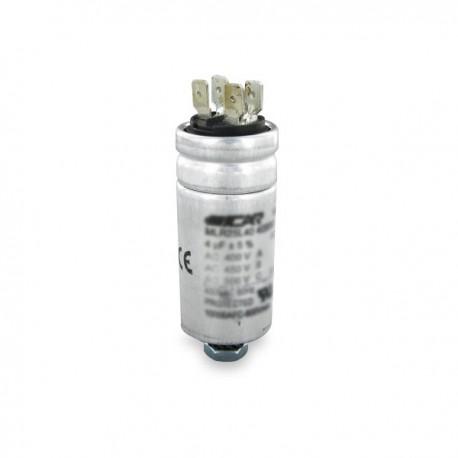 Condensateur permanent aluminium  15 µF