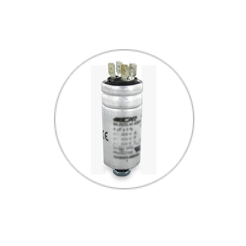 CONDENSATEUR PERMANENT ALUMINIUM 450VAC 25 µF - ICAR - MLR25L45250