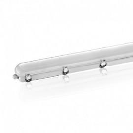Boitier Etanche LED Intégrées traversant 4000°K 36W 3960 LM IP65 1220 x 100 mm