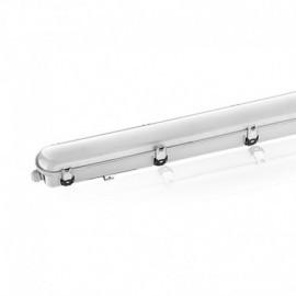 Boitier Etanche LED Intégrées traversant 4000°K 55W 5940LM IP65 1560 x 100 mm