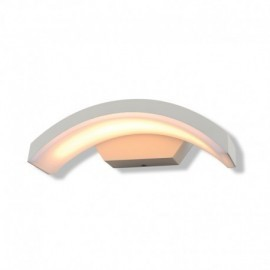 Applique Murale Curviligne LED 6W 4000°K Blanc IP54