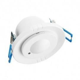 Détecteur de mouvement radio fréquence 5.8Ghz LED encastrable 360°