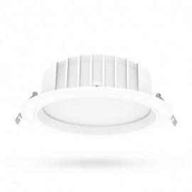 Plafonnier LED Fixe Blanc Ø230 mm 28W 4000°K