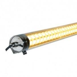Tubulaire LED Intégrées Doré Traversant 35W 3850 LM 3000°K 1500x80mm