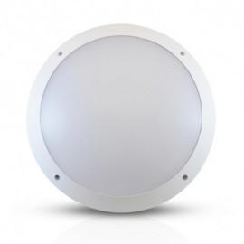 Plafonnier LED Hublot rond + Détecteur RF 20W Ø300mm 4000°K IP65