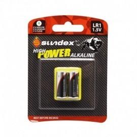 PILES LR1 1,5V SUNDEX X 2 SUPER ALCALINE 10-120