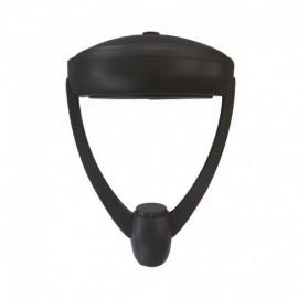 Lanterne sur mat LED YS7 Gris Anthracite 60W IP65 IK10 3000°K