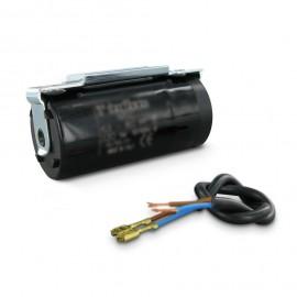 Condensateur de démarrage moteur à cosse noire 330V 46x85MM 200 à 250 µF ITALFARAD