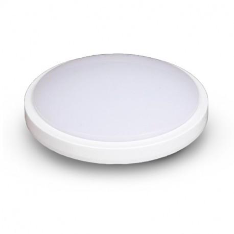 Plafonnier LED Blanc Ø330 24W 4000°K avec détecteur