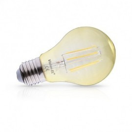 Ampoule LED E27 Bulb Filament Golden 6W 2700°K Boite