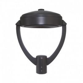 Lanterne sur mat LED YS6 Gris Anthracite 60W IP65 IK10 3000°K