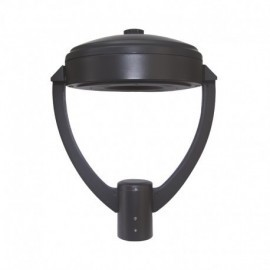 Lanterne sur mat LED YS6 Gris Anthracite 60W IP65 IK10 4000°K