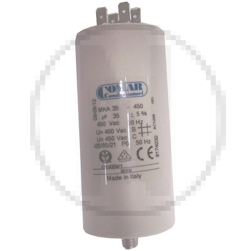 Condensateur permanent à cosse 35 µF COMAR