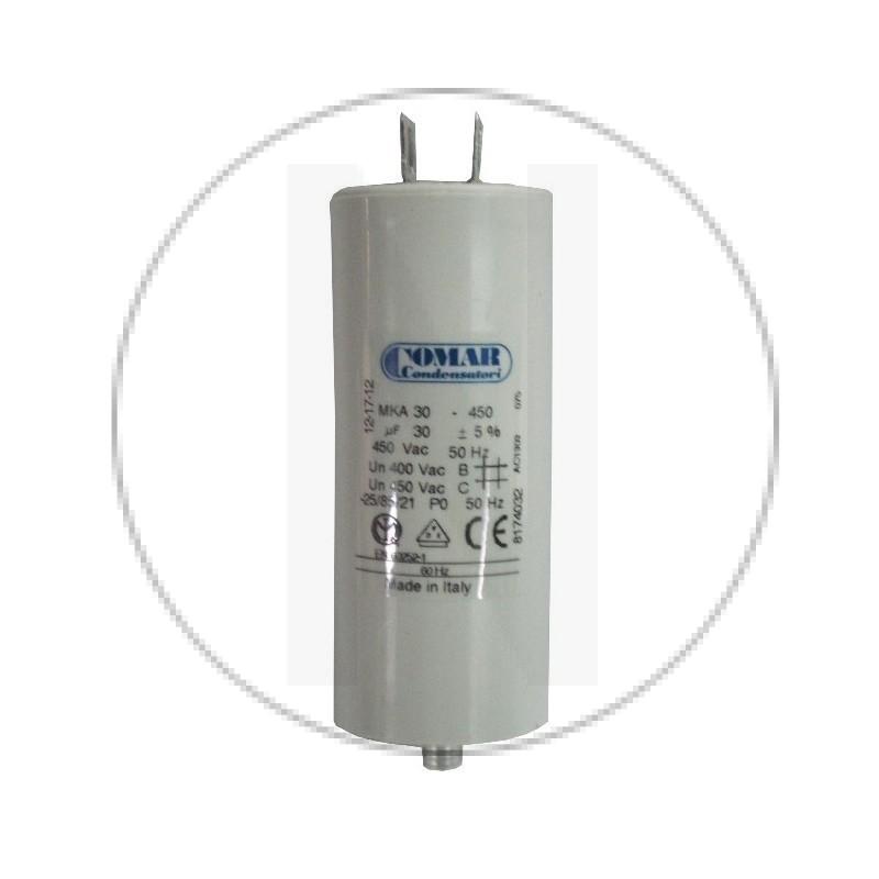 Condensateur permanent à cosse 30 µF COMAR